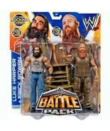Luke Harper & Erick Rowan WWE Battle Pack Wrestling Figures with Rocking... - $108.89