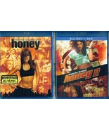 HONEY 1-2-3: Jessica Alba+ Katerina Graham- Cassie Vetura- NEW 3 BLU-RAY - $39.59