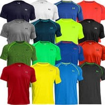 New Under Armour Tech Men's Athletic Short Sleeve T Shirt 1228539 All Co... - $19.99