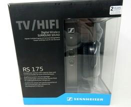Sennheiser RS 175 Headband Wireless Headphones TV HiFi Transmitter Syste... - $110.00