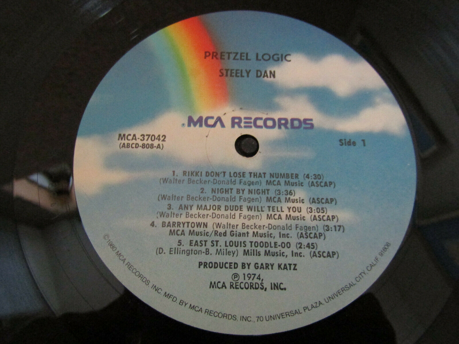 Steely Dan Pretzel Logic MCA MCA-37042 Stereo Vinyl Record LP image 4