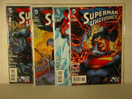 SUPERMAN UNCHAINED - JIM LEE - 1,2,3,5,6 AND 8 - FREE SHIPPING - $18.70