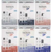 NIOXIN System Starter Kit  Or Full Size Kit Choose from 1, 2, 3, 4, 5, 6  - $24.74+