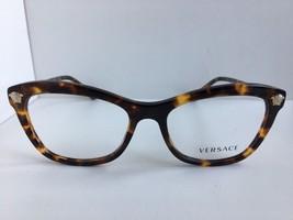 New Versace 2432 5148 Tortoise Cats Eye 54mm Eyeglasses Frame Italy #2 - $199.99