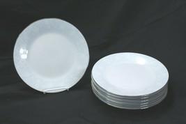 """Noritake Ravel Dinner Plates 10.5"""" Lot of 7 - $78.39"""