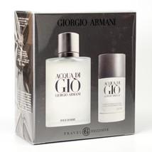 Giorgio Armani Acqua Di Gio 3.4 Oz Eau De Toilette Cologne Gift Set image 2