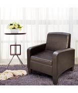 Cloud Mountain Faux Leather Arm H Back Chair Recliner Club Chair Armchair - $109.99