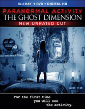 Paranormal Activity-Ghost Dimension (2-Disc Combo/Blu-Ray/DVD)