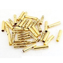Pairs Bullet Connector Gold Plated Quadcopter - $11.84