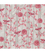 Paintbrush Studio A Walk in the Park Stripe Grey 100% cotton fabric by t... - $6.65