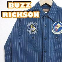BUZZ RICKSON'S Herringbone Twill Squadron Rimpatriata Camicie BR27159 Us... - $218.59