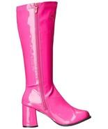 Ellie Gogó Bailarina Club Rosa Fucsia Cremallera Disfraz Punk Botas 7.6cm - $47.15