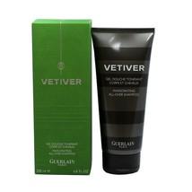 Guerlain Vetiver Invigorating ALL-OVER Shampoo 200 ML/6.8 Fl.Oz. NIB-GU23559 - $51.98
