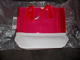 Victoria's Secret Pink Jelly Tote New HTF - $28.80