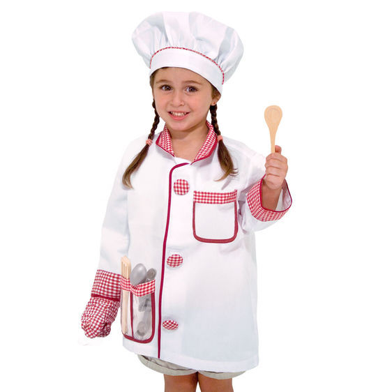 Primary image for Unisex Chef Role Play Costume Set 3-6 Years