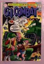 G.I. COMBAT #143 1970- THE HAUNTED TANK-JOE KUBERT ART FN - $25.22