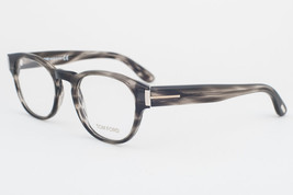 Tom Ford 5275 093 Striped Gray Eyeglasses TF5275 093 50mm - $146.02