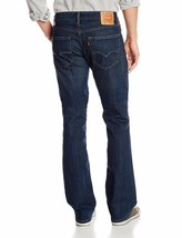 Levi's Strauss 527 Men's Premium Slim Bootcut Jeans Covered Up Stretch 527-0452 image 2
