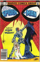 The Spectacular Spider-Man Comic Book #70 Cloak & Dagger 1982 FINE+ - $3.99