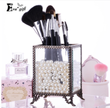 Eva Gift® New Retro European Glass Brushes Box Bucket Transparent Barrel... - $444,80 MXN+