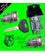 Dodge Ram Dakota Ignition Key Switch Lock Cylinder & Door Lock Set 2 Keys - $77.96