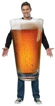 Beer Pint Costume Adult Get Real Alcohol Halloween Party Unique Cheap GC... - £35.58 GBP