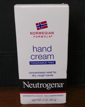 New Neutrogena Norwegian Formula Concentrated Hand Cream Lotion-2oz - $4.00