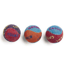 Ethical Burlap Cat Balls 3 Pack - $19.49 CAD