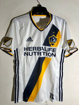 Adidas MLS Los Angeles Galaxy Authentic Team Jersey White sz XL - $39.59