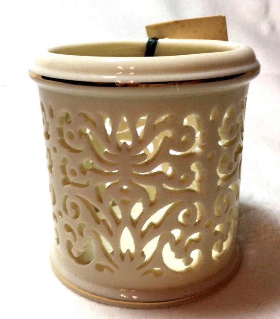Handcrafted Lenox Tea light Candle Holder image 2