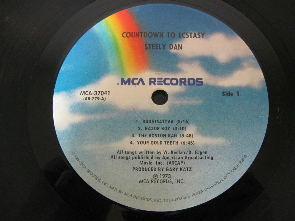 Steely Dan Countdown To Ecstasy MCA ABCX-779 Stereo Vinyl Record LP image 4