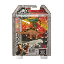 Jurassic World Stegosaurus, Velociraptor, & Transparent Indominus Figure... - $12.82