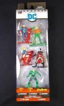 Jada DC Nano metalfigs 5 pack Superman Batman Aquaman Supergirl Lex Luthor NEW - $7.66