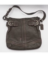 Coach 1453 Soft Small Duffel Soho Shoulder Bag Brown Leather - $24.74