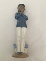 Nao Porcelain By Lladro Sunday School ( Boy Praying ) 2001372 - $64.35