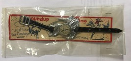 1950s Cisco The Kid Roundup Time Cowboy On Horse Toy Watch In Original P... - $68.59