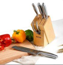 German DIN Molybdenum Vanadium Steel Knife Set 6 PCS Extreme Wear-resista - $300.00