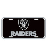 Oakland Raiders License Plate [Free Shipping]**Free Shipping** - $14.20