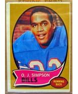 1970 Topps #90 O.J. Simpson RC - $43.83