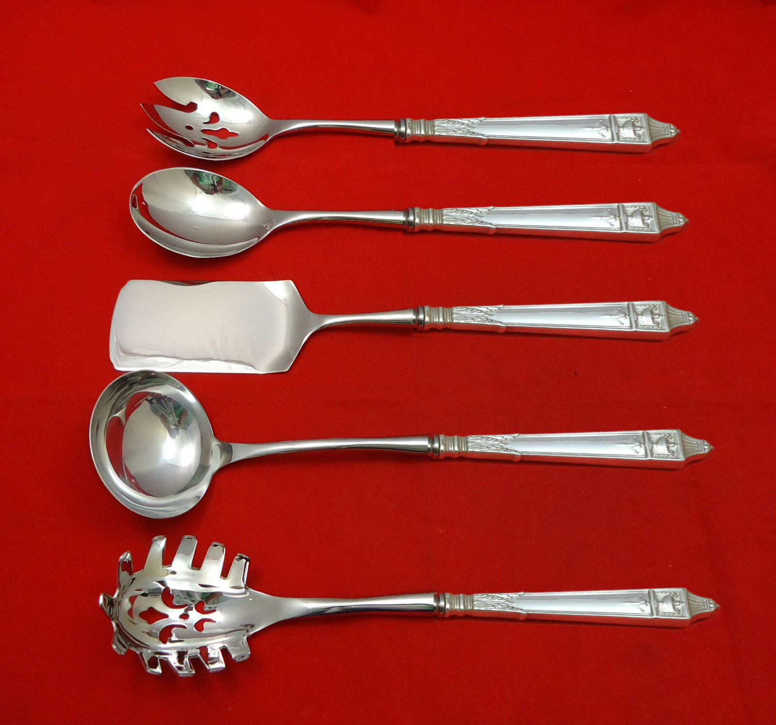"""Delacourt by Lunt Sterling Silver Tomato Server HHWS  Custom Made Approx 8 1//2/"""""""