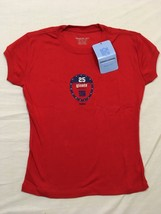 M57 NEW NWT REEBOK New York Giants Football Red Sparkle T Shirt Tee Jers... - €12,73 EUR