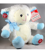 "Levi Lamb ""This Little Light Of Mine"" Plush Cuddle Barn Light Sing Anima... - $24.49"