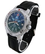Vostok Komandirskie 431818 Military Special Forces Russian Watch VDV Par... - $39.00