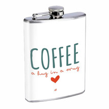 Coffee Mug Hug Em1 Flask 8oz Stainless Steel Hip Drinking Whiskey - $279,96 MXN