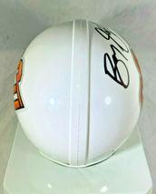 BARRY SANDERS / NFL HALL OF FAME / AUTOGRAPHED OSU LOGO MINI HELMET / SCHWARTZ image 5