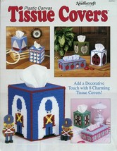 8 Tissue Covers Boat Ladybug Duck Elephant Apple Plastic Canvas PATTERN - $2.22