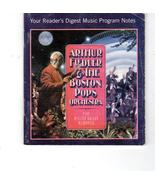 Arthur Fiedler& The Boston Pops Million-Dollar Memories  Reader'sDigest ... - $13.95