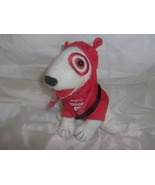 Target Bullseye Dog Plush Wearing Hoodie with Bag - $10.00