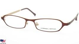 NEW PRODESIGN DENMARK 1217 c.5031 BROWN EYEGLASSES FRAME 46-15-125 B22mm... - $64.33