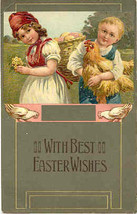 Easter Wishes Paul Finkenrath of Berlin 1908 Post Card - $7.00